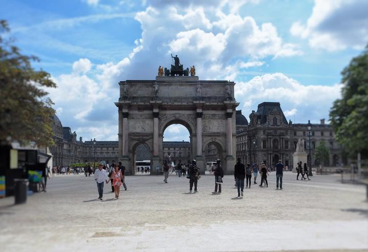 Jardin des Tuileries - Arc du Carrousel