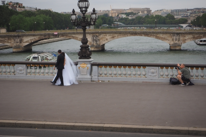 The Seine and Weddings