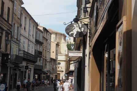 Laneways in Avignon