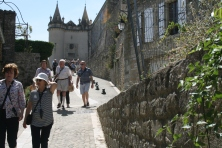 Grignan Castle The walk to the top