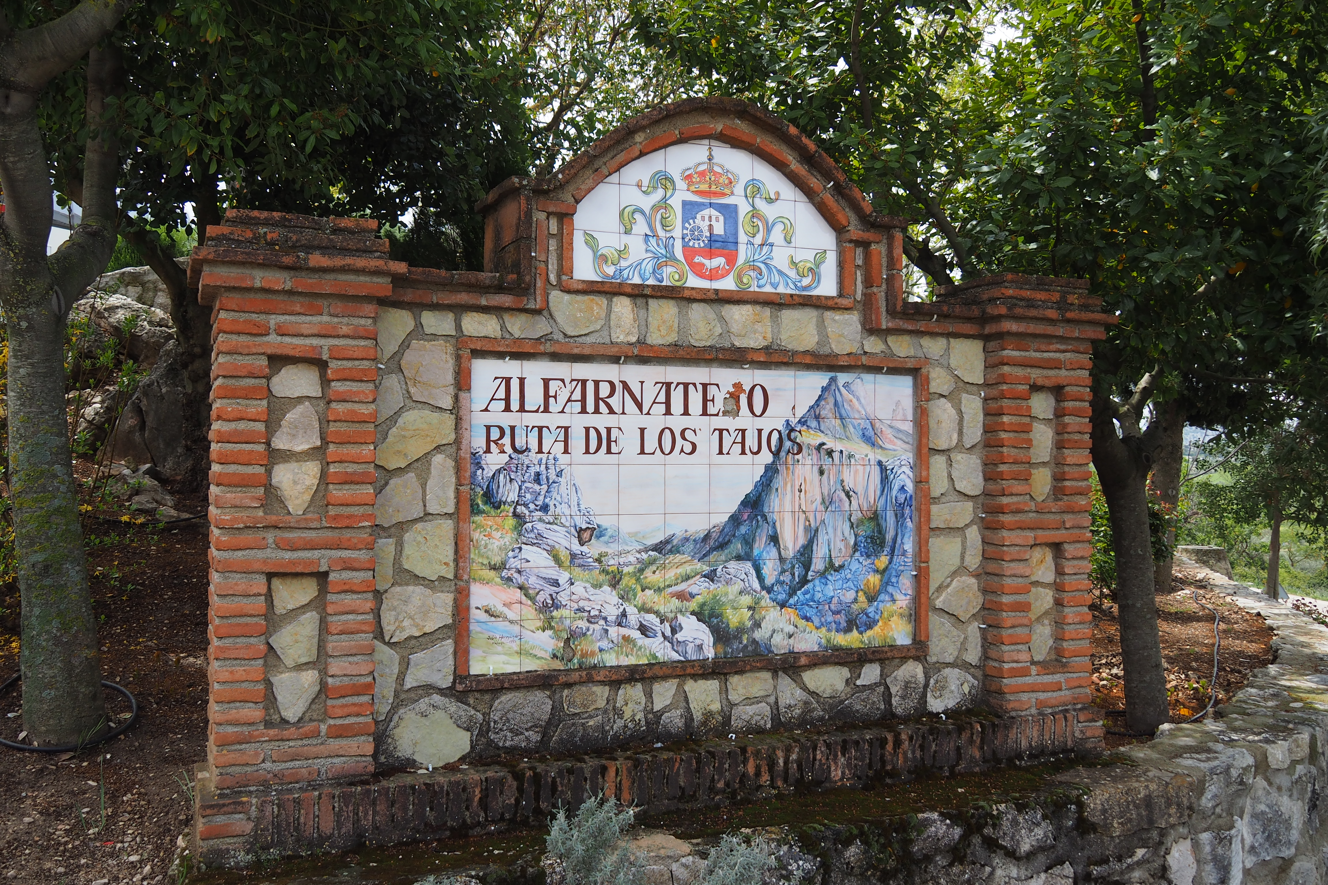 Alfarnatejo Spain
