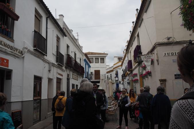 The streets of Cordoba