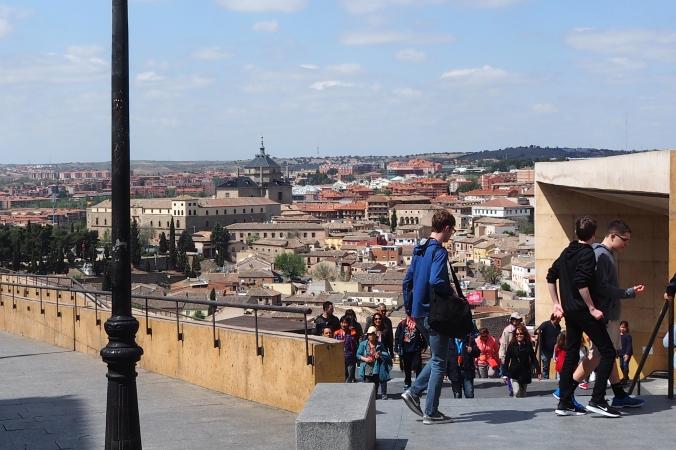 The view of Toledo Spain
