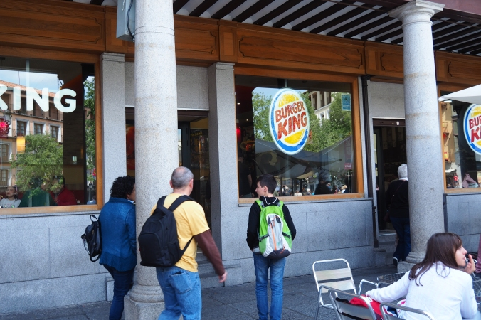 Burger King or Hungry Jacks